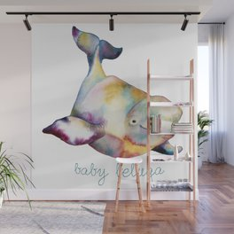 Baby Beluga Wall Mural