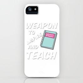 Best Teacher teaching 6th school love children teach Tshirt iPhone Case