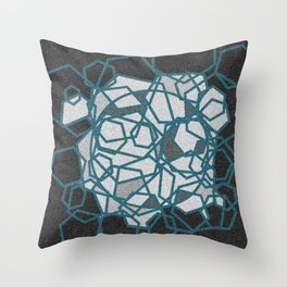 the mind that knows itself Throw Pillow