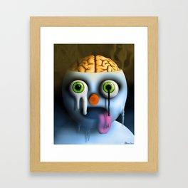 Steamed Framed Art Print