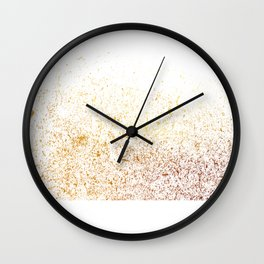 golden dusts#3 Wall Clock