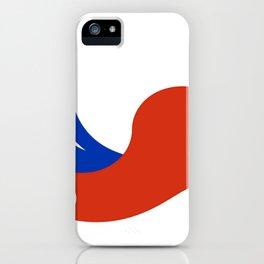 Flag of Chile 3 -Spanish,Chile,chilean,chileno,chilena,Santiago,Valparaiso,Andes,Neruda. iPhone Case