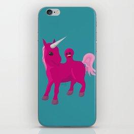 Unicorn with a Tumor iPhone Skin