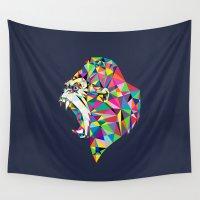 gorilla Wall Tapestries featuring Gorilla by Narek Gyulumyan