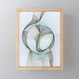 Abstract Elegance Framed Mini Art Print