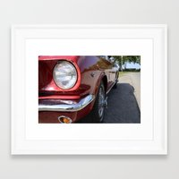 mustang Framed Art Prints featuring Mustang by Inphocus Photography