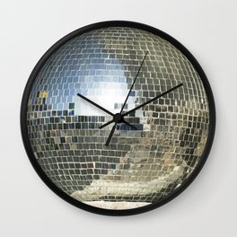 Mirrors discoball Wall Clock