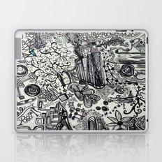 Black/White #2 Laptop & iPad Skin