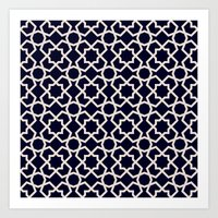 morocco Art Prints featuring Morocco by Patterns and Textures