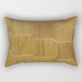 wooden scales Rectangular Pillow