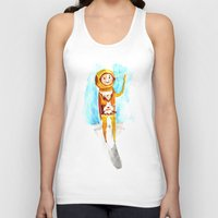 scuba Tank Tops featuring Scuba by Leah Rose Buckman