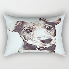 Dont abandon me, I never would ( NO ME ABANDONES; YO NUNCA LO HARÍA) Rectangular Pillow