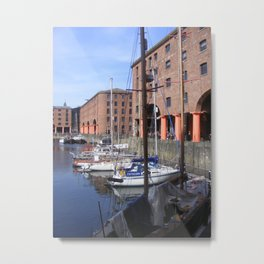 Albert Dock, Liverpool Metal Print