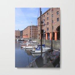 Albert Dock, Liverpool Metal Print