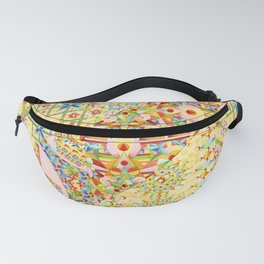 Sunshine Crazy Quilt (printed) Fanny Pack