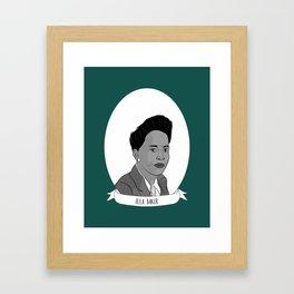 Ella Baker Illustrated Portrait Framed Art Print
