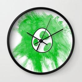 Yoshi Egg Wall Clock