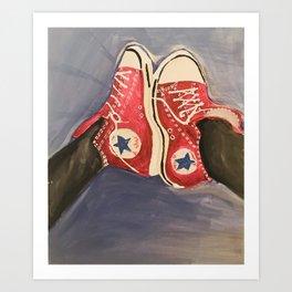 Kickin It Art Print