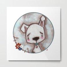 Dog  - by Diane Duda Metal Print