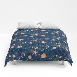 Painted Space Comforters
