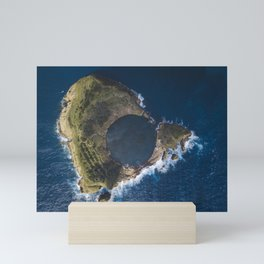 Ocean pool Mini Art Print