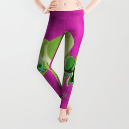 Orchid, green Leggings
