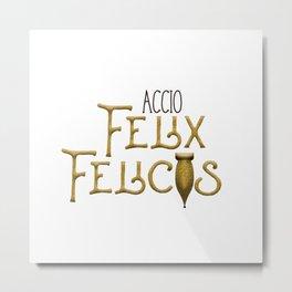 Accio Felix Felicis Metal Print