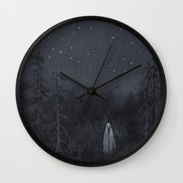 """Lucas Allen Cook """"River Spirit"""" Wall Clock"""