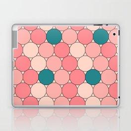 Retro Pattern Dodecagon Pink Laptop & iPad Skin