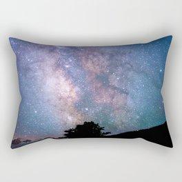 The Night Sky II - glowing stars Rectangular Pillow