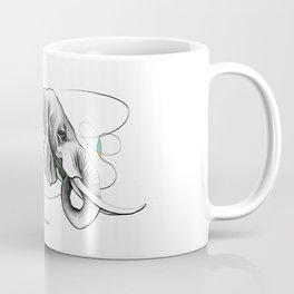 Elephant Design Coffee Mug