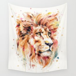 All Things Majestic (lion) Wall Tapestry