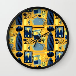 The Blind Banker Wall Clock