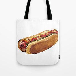 Just Hot Dog Tote Bag