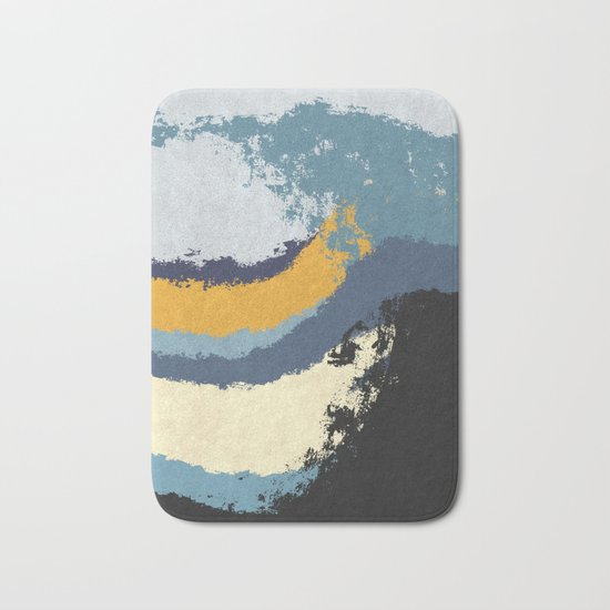 Waves - No Obstacle Bath Mat