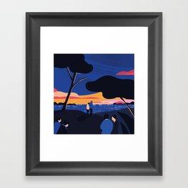 PICKNICK Framed Art Print