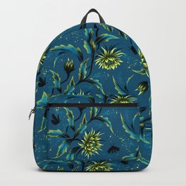 Queen of the Night - Teal Backpack
