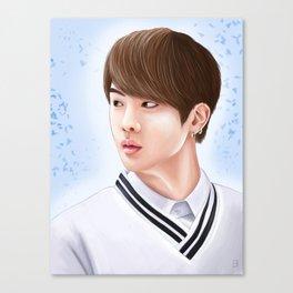 BTS - Jin Canvas Print