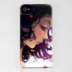 Les fleurs rouges... iPhone (4, 4s) Slim Case