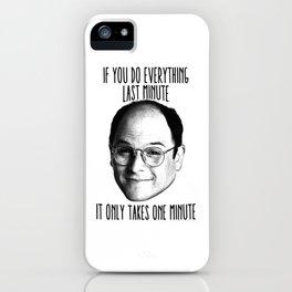 Last minute George iPhone Case