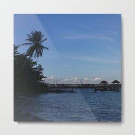 IT'S BLUE OUT THERE Metal Print