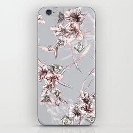 Crystalized Florals iPhone Skin