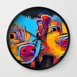 Piglets Wall Clock