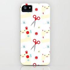 Sewing fun iPhone (5, 5s) Slim Case