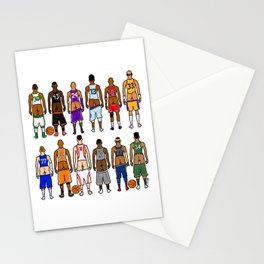 Basketball Butts Stationery Cards