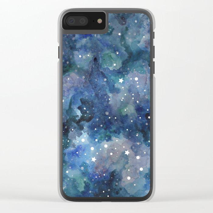 Star Galaxy Clear iPhone Case