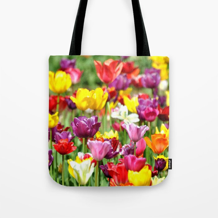 PRETTY TULIPS Tote Bag