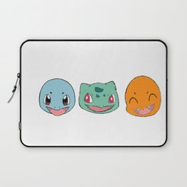Red and Blue starters Laptop Sleeve