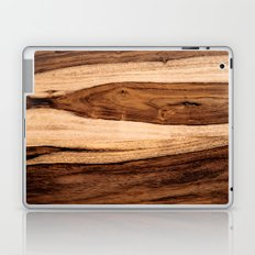 Sheesham Wood Grain Texture, Close Up Laptop & iPad Skin