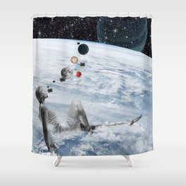 chilling Shower Curtain